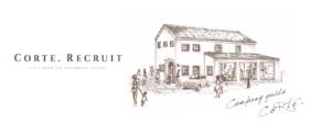 倉敷の美容院CoRte. grass店のイラスト
