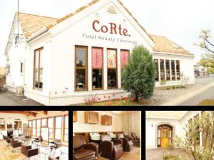 倉敷の美容院CoRte. grass店のイメージ