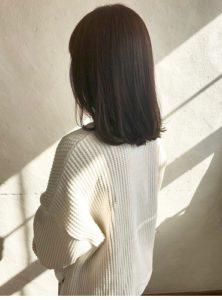 倉敷の美容院CoRte. grass店の女性モデル