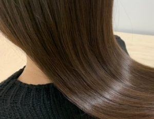 倉敷の美容院コルテグラス店の髪質改善