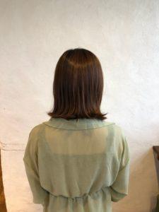 倉敷の美容室コルテグラスのスタイル写真